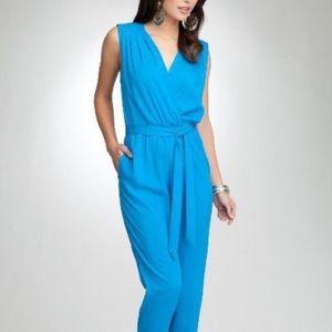 Bebe Jumpsuit - Size XS - Turquoise